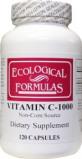 Afbeelding van Ecological Form Vitamine C 1000 Mg Ecologische Formule, 120 capsules
