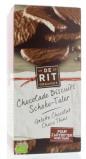 Afbeelding van De Rit Chocolade Wafeltje Puur, 125 gram
