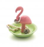 Afbeelding van Balvi ringhouder Flamingo op schaaltje