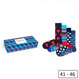 Image de Happy Socks Nautical Giftbox XNAV09 6300 41 46