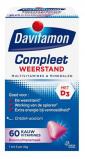 Afbeelding van Davitamon Compleet weerstand kauwvitamines bosvruchten (60 tabletten)