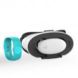 Afbeelding van VR Pleasure Experience Set Lite Turquoise Automatische Masturbators