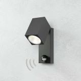 Afbeelding van ACB ILUMINACIÓN cala LED buitenspot met bewegingssensor, metaal, 5.6 W, energie efficiëntie: A+, B: 6.3 cm, H: 16 cm
