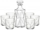 Afbeelding van Bormioli Rocco whisky set Cassiopea 7 delig