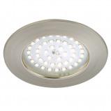 Afbeelding van Briloner carl LED inbouwlamp voor buiten, mat nikkel., kunststof, 10.5 W, energie efficiëntie: A+, H: 3.3 cm