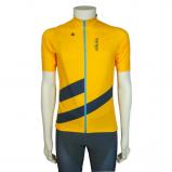 Afbeelding van 36 Cycling Jersey Pro Men heren wielershirt oker