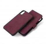 Afbeelding van Decoded 2 in 1 Wallet Case iPhone Xs / X Paars