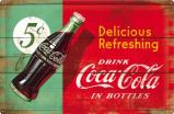 Afbeelding van Coca Cola Delicious Refreshing Metalen Wandplaat 60x40cm Wandplaten