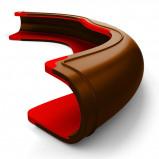 Abbildung von Harrys Horse Sattelclip Composti Coleo Braun Rot