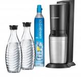 Afbeelding van SodaStream CRYSTAL BLACK +2 BOT soda maker Crystalmet 2 karaffen