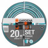 Afbeelding van Gardena classic tuinslang 13 mm 1 2 20 meter aansluitstukken