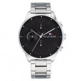 Afbeelding van Tommy Hilfiger Horloge Chase 44 mm zilverkleurig zwart 1791485