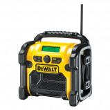 Afbeelding van DeWalt DCR019 10.8 18V Li Ion accu bouwradio werkt op netstroom &