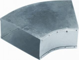 Afbeelding van Air Spiralo Bocht Instortkanaal 200x80 Rkb 45 Instortbocht