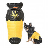 Image of Bobby Dog Coats Life Yellow/Black 48X58 70CM