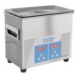 Abbildung von 3,2 Liter Ultraschallreiniger Palssonic 100 W, Edelstahl, 40 kHz, 150 W Heizleistung, Ultraschallbad 265 x 165 x 220 mm