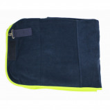 Afbeelding van Equest Deken Alpha Fleece Regular Navy/Lime 115/165