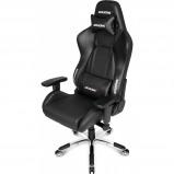 Afbeelding van AKRacing, gaming Chair Master Premium PU Carbon Zwart stoel