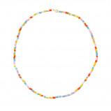 Obrázek ANNA + NINA 925 Sterling Zilveren Surreal World Coloured Dream Ketting 20 1M903003GP (Lengte: 42.00 cm)