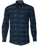 Afbeelding van Casa Moda Overhemd Modern Fit Blauw 3XL Grote Maten