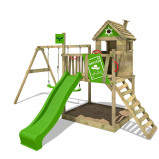 Image of Fatmoose Children's Climbing frame RockyRanch Roll XXL