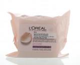 Afbeelding van Loreal Skin Expert Reinigingsdoekjes Droge/gevoelige Huid, 25 stuks