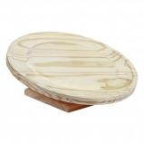 Abbildung von Kerbl Laufteller aus Holz 30cm