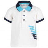 Afbeelding van Armani 3GHF02 baby polo wit