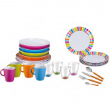 Afbeelding van Brunner All Inclusive Spectrum 36 delig Campingservies Set