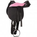 Abbildung von Harry's Horse Bambino Shetland Sattel (Farbe: rosa)