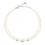 Afbeelding van Beige minimalistische kralenarmband
