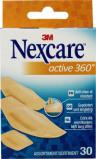 Afbeelding van Nexcare Active 360 Assorti Pleisters, 30 stuks