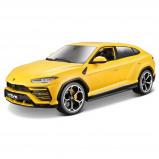 Afbeelding van Bburago schaalmodel Lamborghini Urus (2018) 1:18 geel