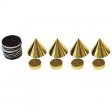 Afbeelding van Dynavox spikes 4 stuks in het goud
