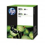 Afbeelding van HP 301XL 2 pack zwart Cartridge