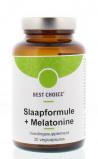 Afbeelding van Best Choice Slaapformule met Melatonine 30 vegacaps
