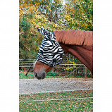 Imagem de Kerbl Fly Mask RugBe with Ear Protection Zebra Pony