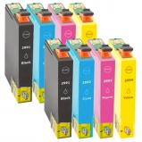 Afbeelding van Geschikt 2x Epson 29XL (T2996) Voordeelbundel (inktcartridges) Alleeninkt
