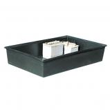 Afbeelding van Carpoint opvangbak voor vloeistoffen 240 liter kunststof zwart