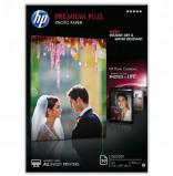 Billede af HP premium plus glossy inkjet fotopapir A4, 300g, 50 ark (CR674A)