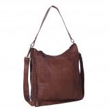 Imagem de Chesterfield Leather Shoulder Bag Black Label Cognac Larin