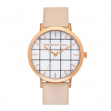 Afbeelding van Christian Paul Bondi Grid 43 MM Rose Gold / Peach horloge