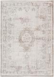 Afbeelding van Louis de Poortere Fading World Medallion vloerkleed (Afmetingen: 200x140 cm, Basiskleur: wit)
