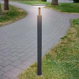 Afbeelding van 100 cm hoog LED tuinpadverlichting Fenia, Lampenwelt.com, aluminium, kunststof, 12 W, energie efficiëntie: A+, H: