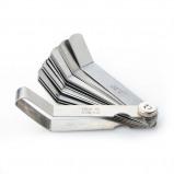 Εικόνα του 0.05 to 1mm Thickness Curved Stainless Steel Gap Metric Filler Feeler Gauge P20