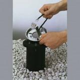 Afbeelding van Albert Leuchten grondinbouwsokkel made in Germany, gietaluminium