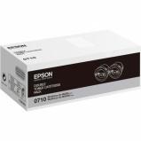 Billede af 2 pack Epson C13S050710 toner 2 x 2.500 sider original
