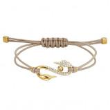 Afbeelding van Swarovski 5508527 Swapower Bracelet S Hook goudkleur Armband Medium