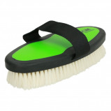 Imagem de Ezi Groom Body Brush with Goat Hair Lime Green L