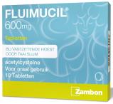 Afbeelding van Fluimucil 600mg Tabletten 10st
